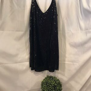Women sparkly sequin party dress. NWOT